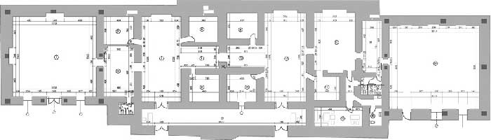 План на основата на Чифте амам
