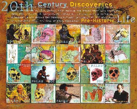 Палеоантрополошки пронајдоци во 20 век