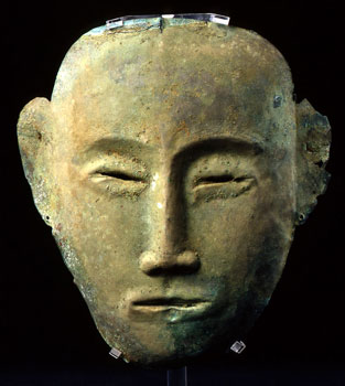 Liao_Bronze_Funerary_Mask
