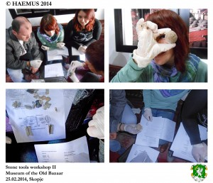 Stone tool workshop II by HAEMUS